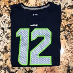 Women's Nike Seahawk Tshirt